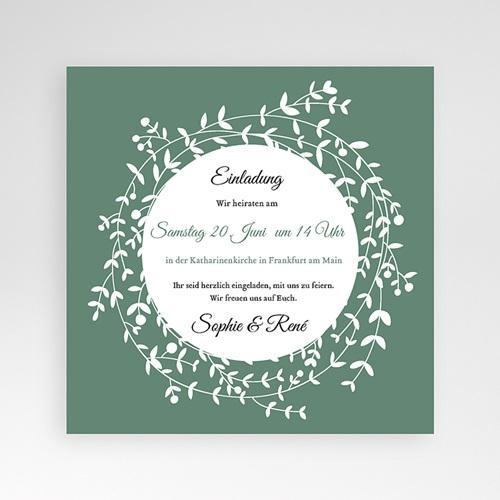 Hochzeitskarten Quadratisch - Diadem 37727 preview