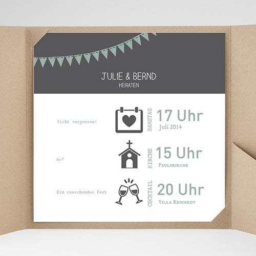 Hochzeitskarten Quadratisch - Camille 37748 preview