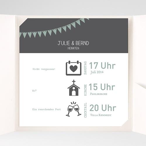 Hochzeitskarten Quadratisch - Camille 37749 preview