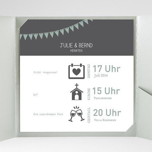 Hochzeitskarten Quadratisch - Camille 37750 preview