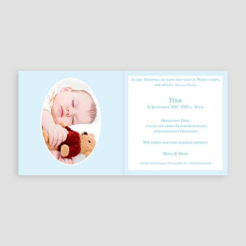 Babykarten für Jungen - Vichy Design 3777 preview