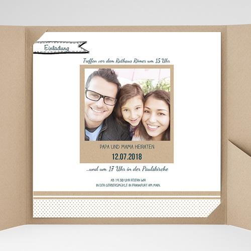Hochzeitskarten Quadratisch - Detailverliebt 37784 preview