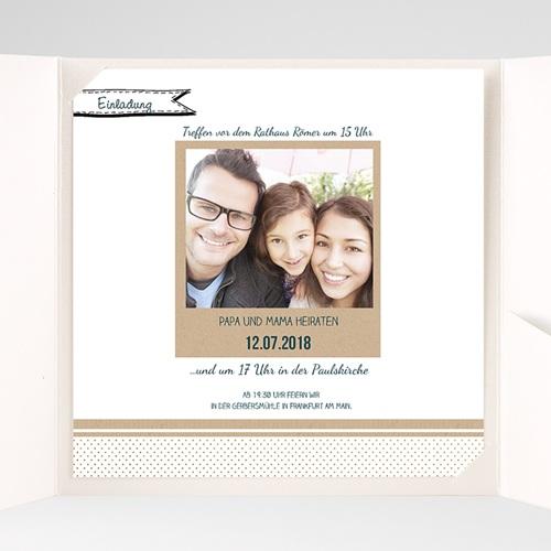 Hochzeitskarten Quadratisch Detailverliebt pas cher