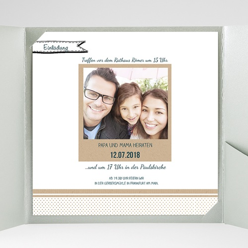 Hochzeitskarten Quadratisch - Detailverliebt 37786 preview