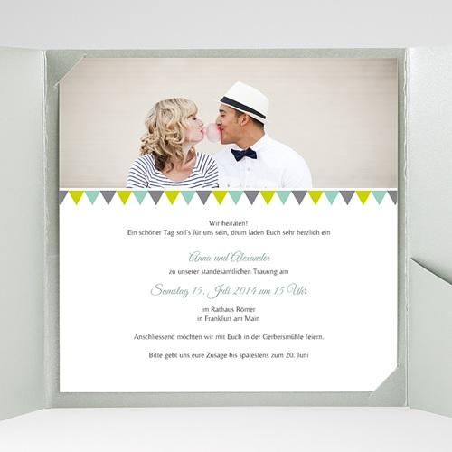 Hochzeitskarten Quadratisch Vintage Charme gratuit