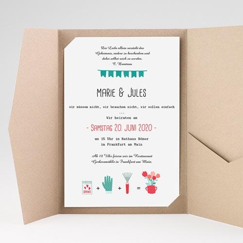 Hochzeitskarten Querformat - Beet 37832 preview