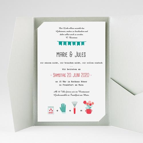 Hochzeitskarten Querformat - Beet 37834 preview