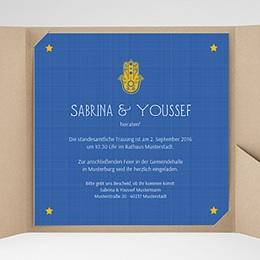 Hochzeitskarten Quadratisch - Yasmin - 0