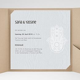 Hochzeitskarten Quadratisch - Tamina - 0