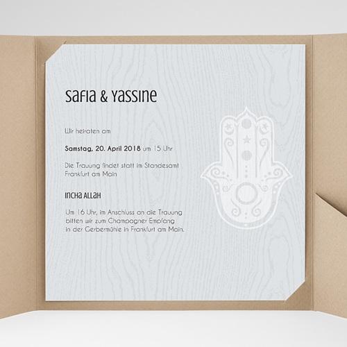 Hochzeitskarten Quadratisch - Tamina 37916 test