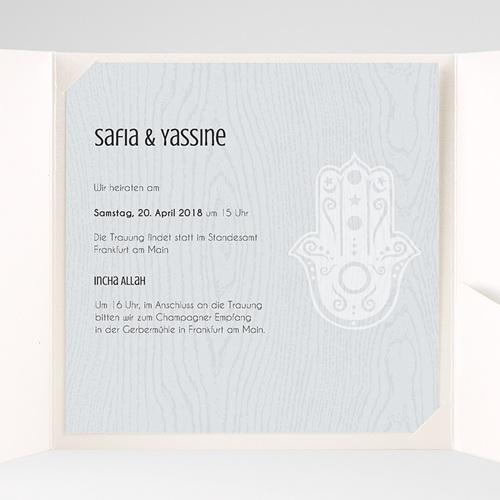 Hochzeitskarten Quadratisch - Tamina 37917 test
