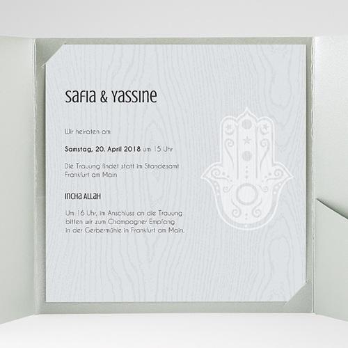 Hochzeitskarten Quadratisch - Tamina 37918 test