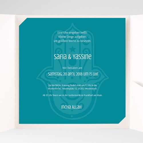 Hochzeitskarten Quadratisch - Kashmira 37929 preview