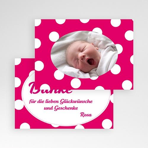 Dankeskarten Geburt Mädchen - Lilah 3797 preview