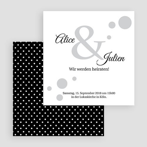 Hochzeitseinladungen modern - Traumhaft elegant  38008 preview
