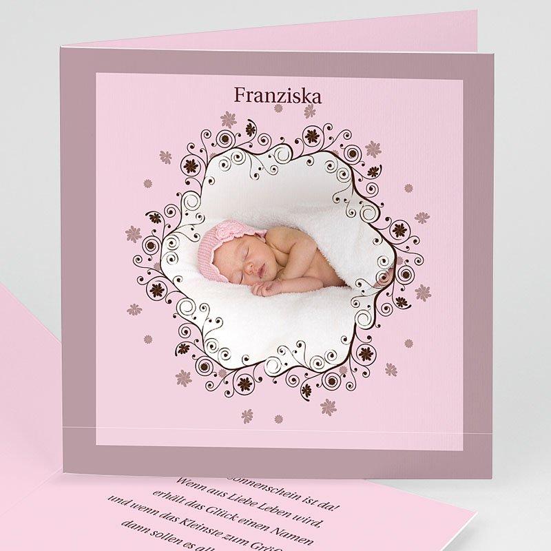 Geburtskarten für Mädchen Sternstaub