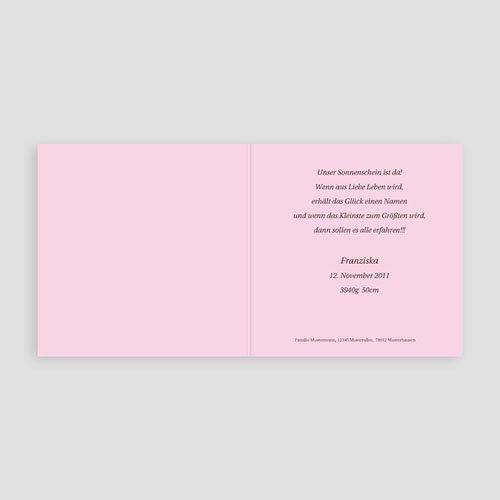 Geburtskarten für Mädchen - Sternstaub 3805 preview