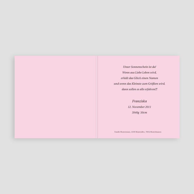 Geburtskarten für Mädchen - Sternstaub 3805 thumb