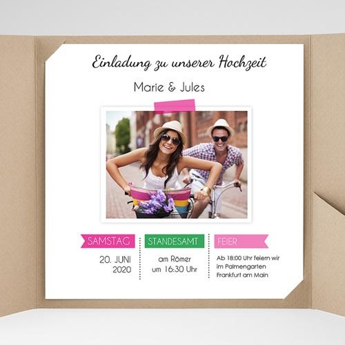 Hochzeitskarten Quadratisch - Pop 38057 preview
