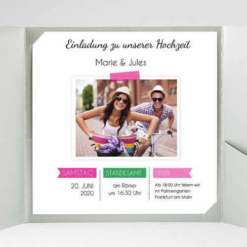 Hochzeitskarten Quadratisch - Pop 38059 preview