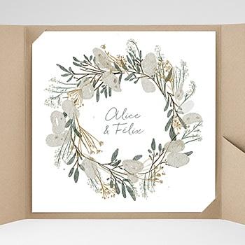 Hochzeitskarten Quadratisch - Tafeldesign - 0