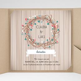 Karten Hochzeit Landhochzeit