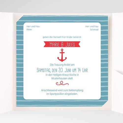Hochzeitskarten Quadratisch - Hafen der Ehe 38082 preview