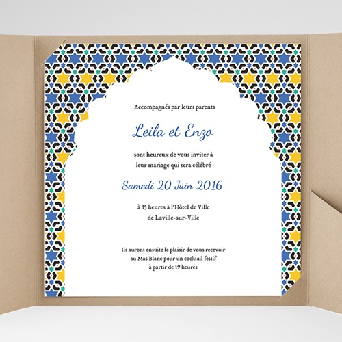 Hochzeitskarten Quadratisch - Lea 38121 preview