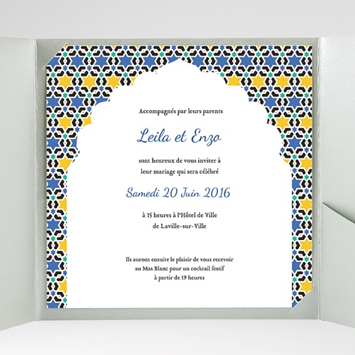 Hochzeitskarten Quadratisch Lea gratuit