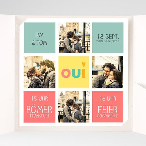 Hochzeitskarten Quadratisch - Gute Laune 38174 preview