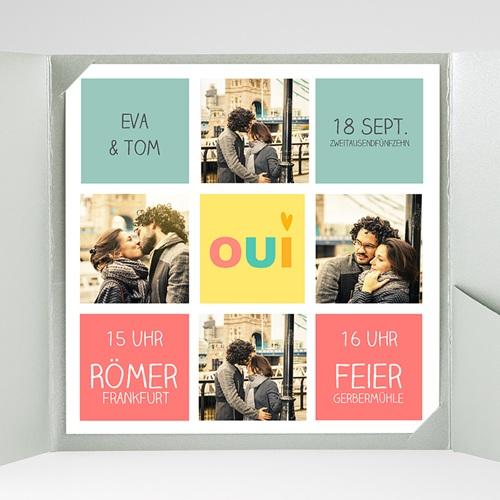 Hochzeitskarten Quadratisch - Gute Laune 38175 preview