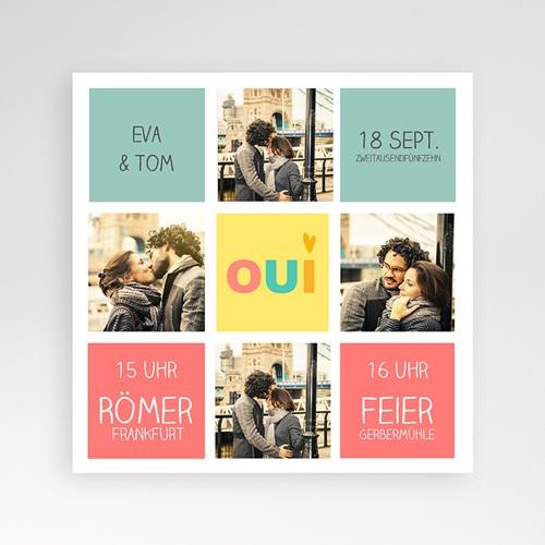 Hochzeitskarten Quadratisch - Gute Laune 38176 preview