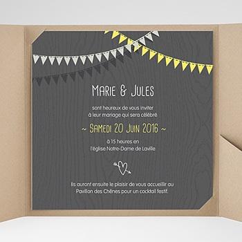 Hochzeitskarten Quadratisch - Hochzeitsdeko - 0