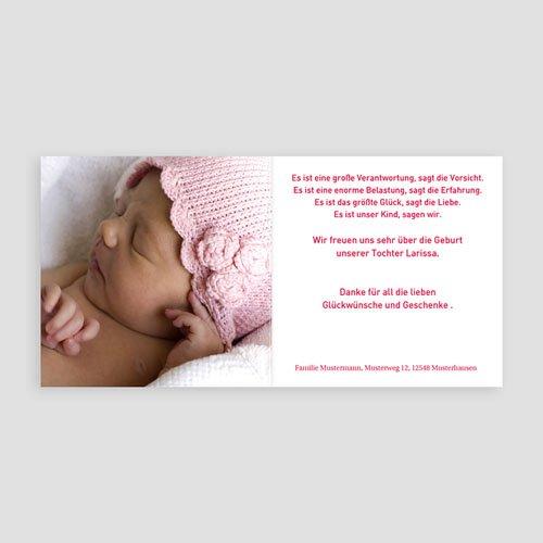 Geburtskarten für Mädchen - Astoria 3821 preview