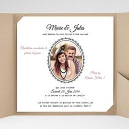 Hochzeitskarten Quadratisch Die