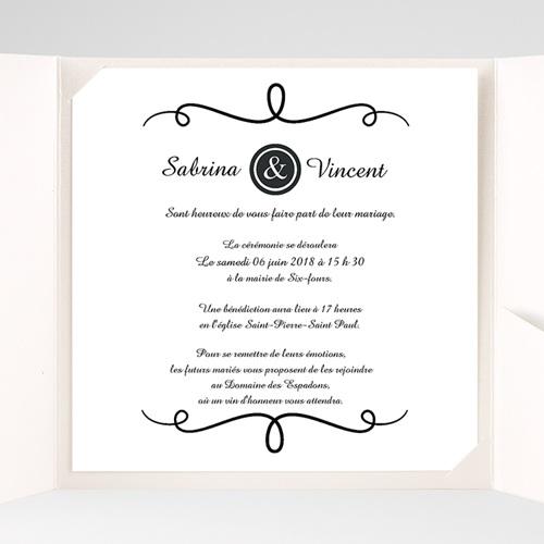 Hochzeitskarten Quadratisch - Eleganz schlicht pur 38234 preview