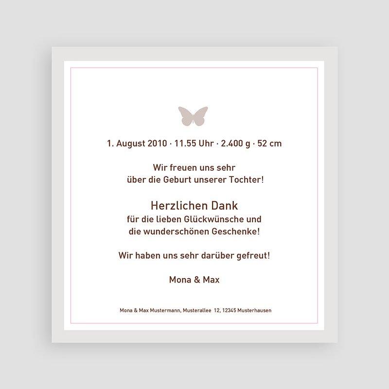 Geburtskarten für Mädchen - Lucie 3825 thumb