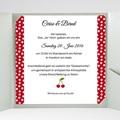 Hochzeitskarten Quadratisch - Rote 38291 test