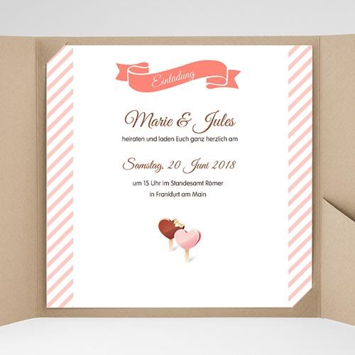 Hochzeitskarten Quadratisch - Nelly 38297 preview