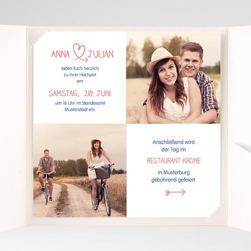 Hochzeitskarten Quadratisch - Fusion 38322 preview