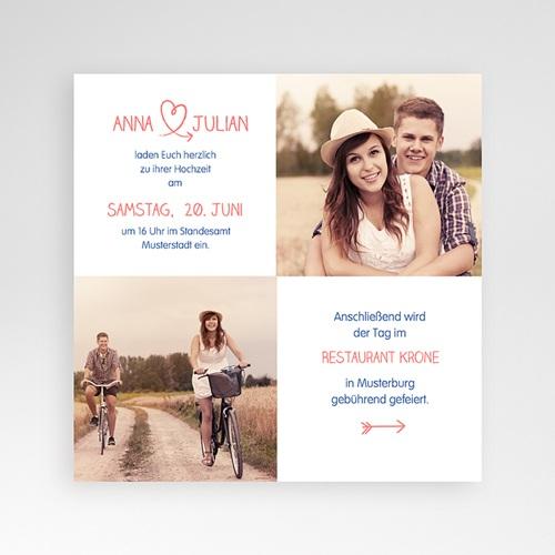 Hochzeitskarten Quadratisch - Fusion 38324 preview