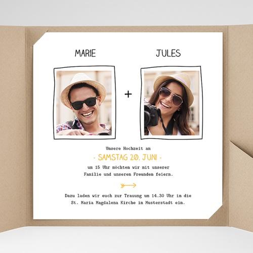 Hochzeitskarten Quadratisch - Love 38337 preview