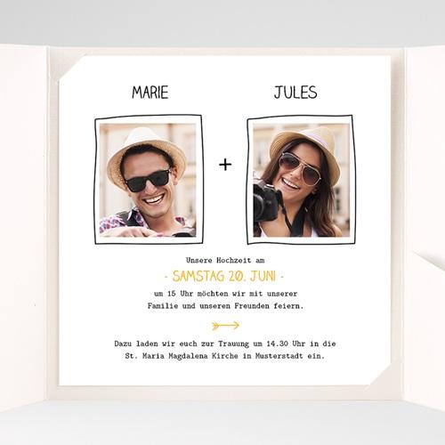 Hochzeitskarten Quadratisch - Love 38338 preview