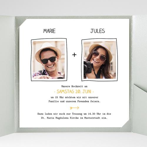 Hochzeitskarten Quadratisch - Love 38339 preview