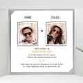 Hochzeitskarten Quadratisch - Love 38339 test