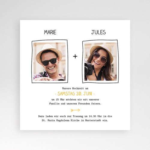 Hochzeitskarten Quadratisch - Love 38340 preview