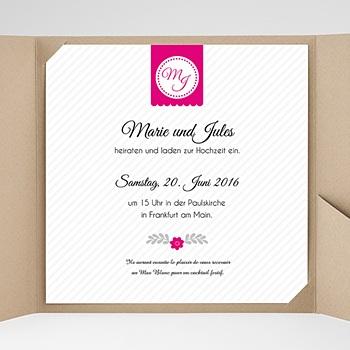 Hochzeitskarten Quadratisch - Just us - 0