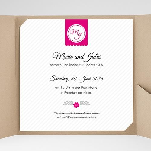 Hochzeitskarten Quadratisch - Just us 38345 preview