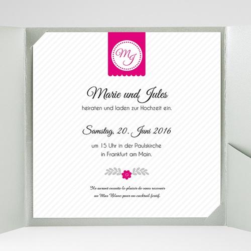 Hochzeitskarten Quadratisch - Just us 38347 preview
