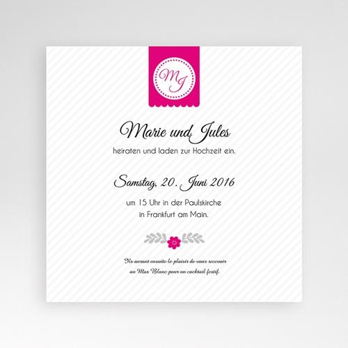 Hochzeitskarten Quadratisch - Just us 38348 preview